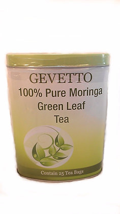 Gevetto 100% Pure Moringa Green Leaf Tea