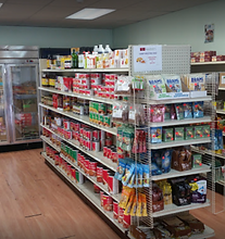 Large selection of health foods