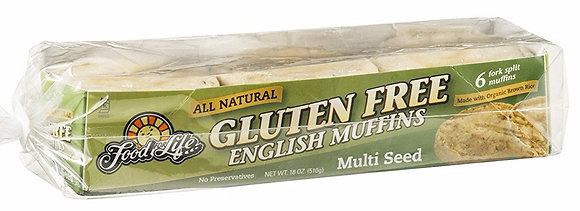 Ezekiel 4:9 Gluten Free Multi Seed English Muffins