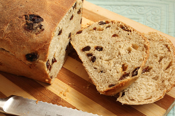 Eden Close Homemade Raisin Bread