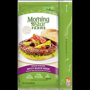MorningStar Farms Spicy Black Bean Burgers