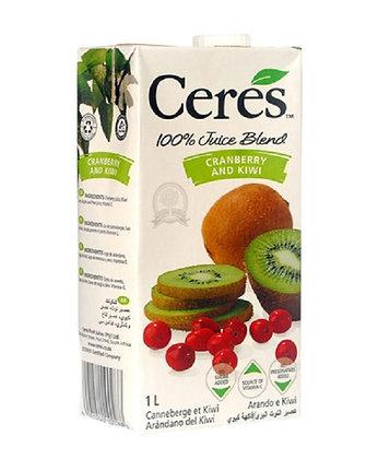 Ceres Cranberry and Kiwi Juice