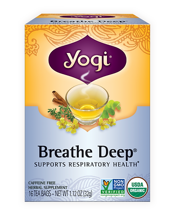 Yogi Organic Breathe Deep Tea