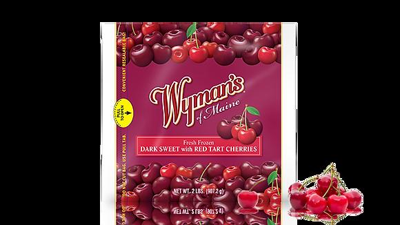 Wyman's Dark Sweet with Red Tart Cherries
