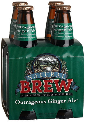 Natural Brew Outrageous Ginger Ale