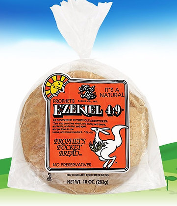 Ezekiel 4:9 ®Whole Grain Pocket Bread