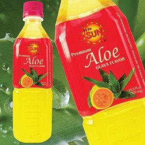 It's the Sun Aloe Vera Juice Guava Flavor