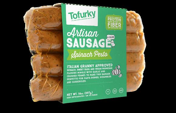 Tofurky – Artisan Sausage – Spinach Pesto
