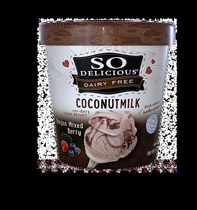 So Delicious Coconut Milk Ice Cream (Oregon Mixed Berry)