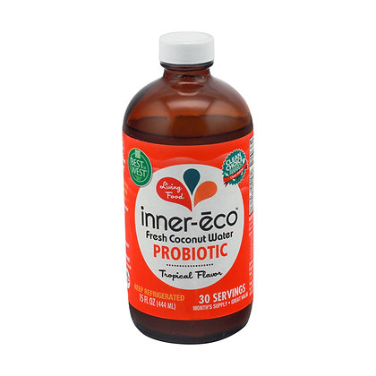 Inner-eco to Go – Fresh Coconut Water Probiotic - Tropical