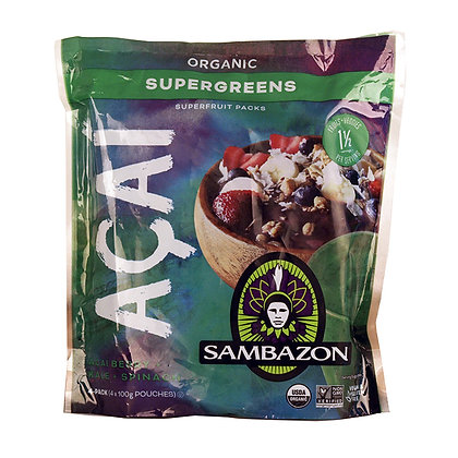 Sambazon Organic Supergreens