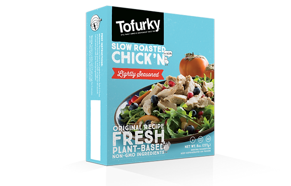 Tofurky – Slow Roasted Chick'n – Lightly Seasoned