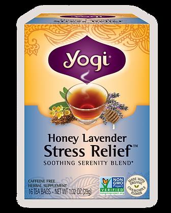 Yogi Organic Honey Lavender Stress Relief Tea
