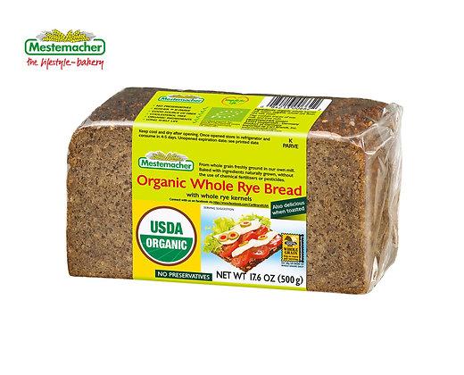 Mestemacher Organic Whole Rye Bread
