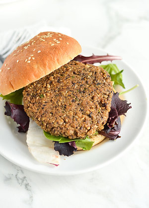 Sesame Oat Burger Mix