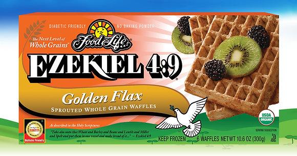 Ezekiel 4:9 ® Organic Sprouted Grain Golden Flax Waffles