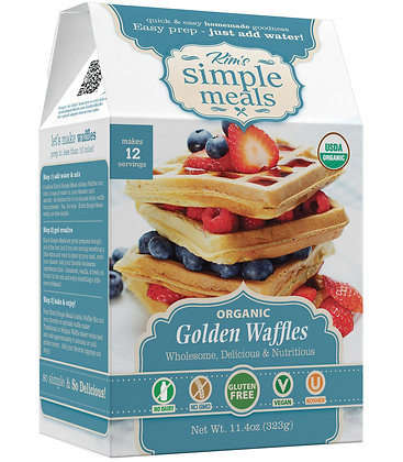 Kim's Simple Meals Organic Golden Waffles
