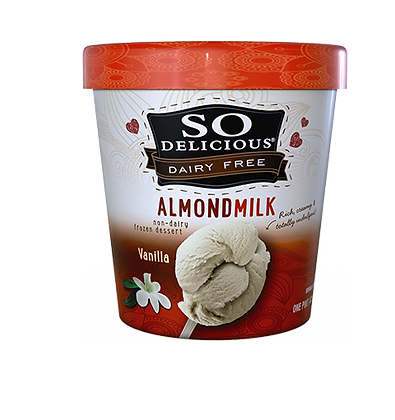 So Delicious Almond Milk Ice Cream (Vanilla)