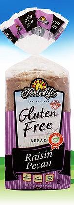 Gluten Free Raisin Pecan Bread