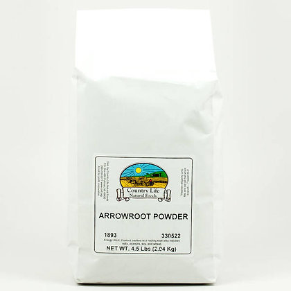 Country Life Arrowroot Powder