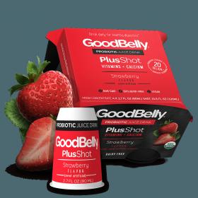 GoodBelly PlusShot - Strawberry