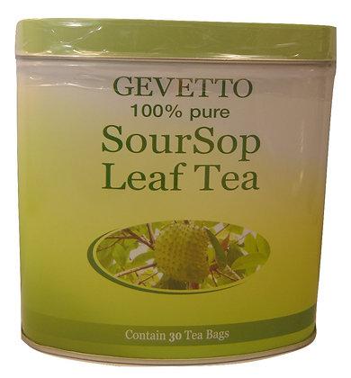 Gevetto 100% Pure Sour Sop Leaf Tea