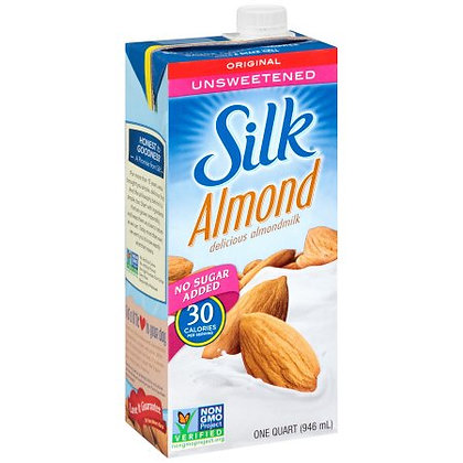 Silk Almond Milk (Unsweetened)