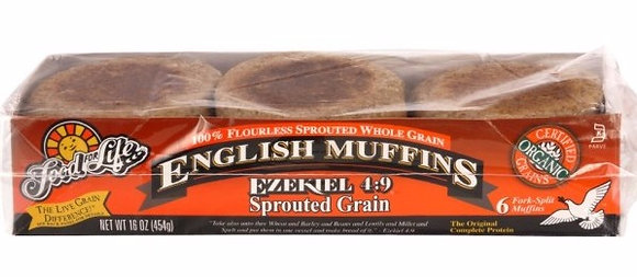 Ezekiel 4:9 Sprouted Grain English Muffins
