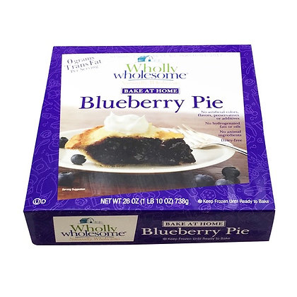 Wholly Wholesome Blueberry Pie