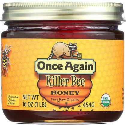 Once Again Organic Killer Bee Honey