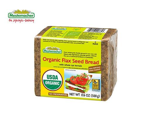 Mestemacher Organic Flax Seed Bread