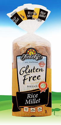 Gluten Free Rice Millet Bread