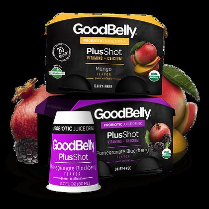 GoodBelly PlusShot – Pomegranate Blackberry