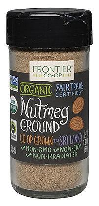 Frontier Organic Nutmeg Ground