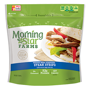 MorningStar Farms Steak Strips