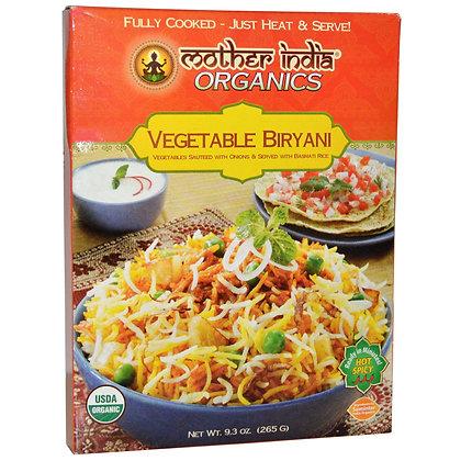 Mother India Organics – Vegetable Biryani