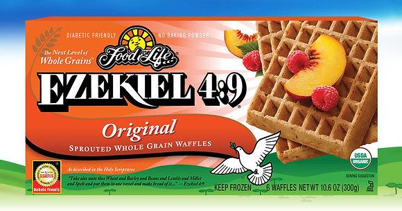 Ezekiel 4:9 ® Organic Sprouted Grain Original Waffles