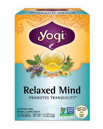 Yogi Organic Relaxed Mind Tea