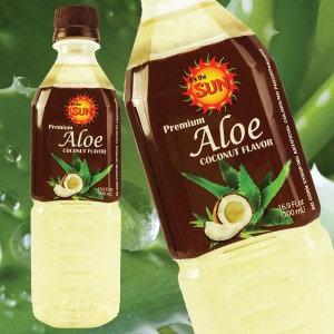 It's the Sun Aloe Vera Juice Coconut Flavor