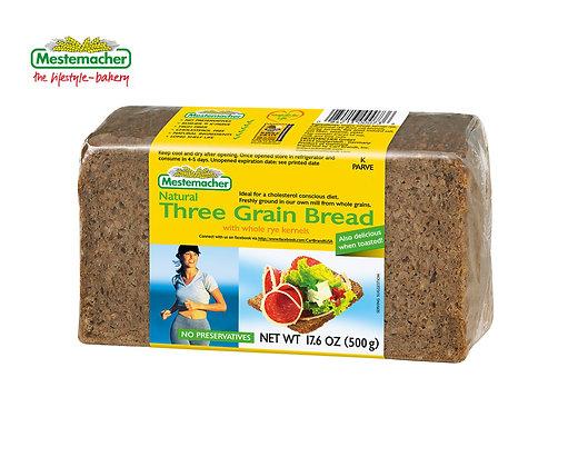 Mestemacher Natural Three Grain Bread