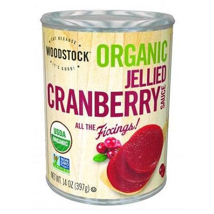 Woodstock Organic Cranberry Jellied Sauce