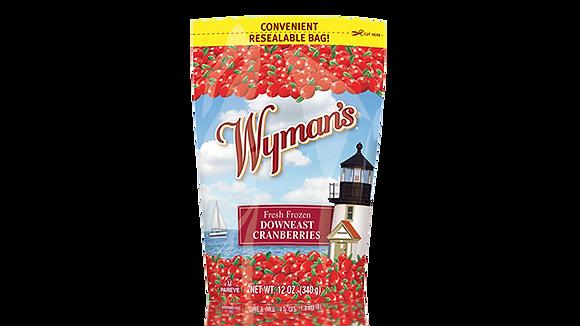 Wyman's Fresh Frozen Downeast Cranberries