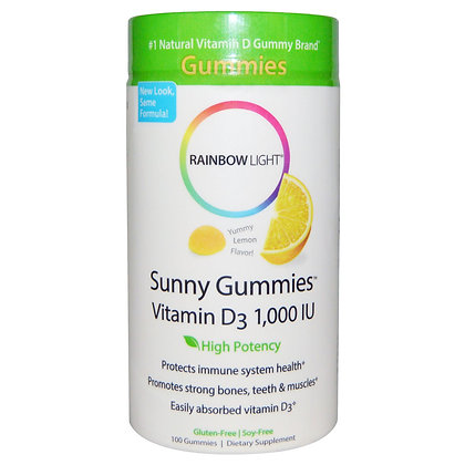 Rainbow Light – Sunny Gummies