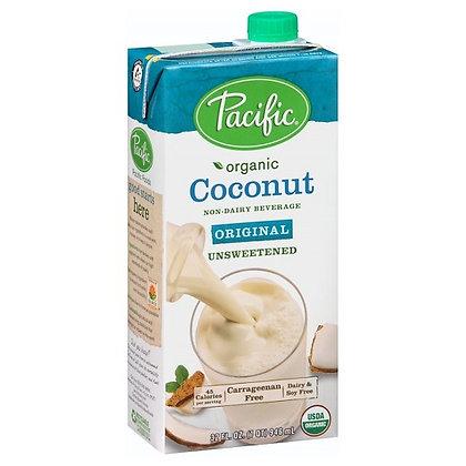 Pacific Organic Coconut Milk (Original, Unsweetened)