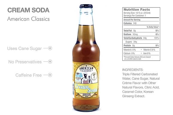 American Classics Cream Soda