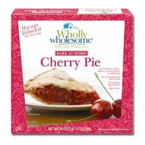 Wholly Wholesome Cherry Pie