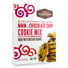 Madhava Organic Chocolate Chip Cookie mix
