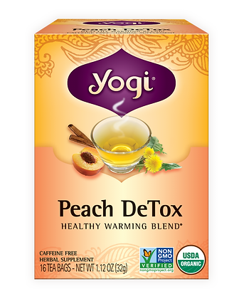 Yogi Organic Peach DeTox Tea
