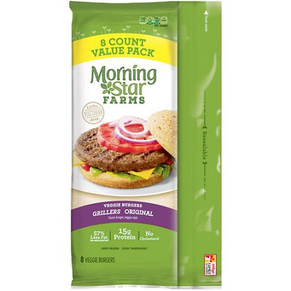 MorningStar Farms Grillers Original Burgers