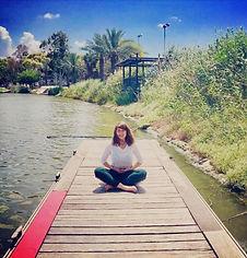 me meditating hayarkon - workshop naim .